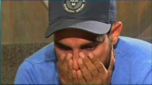 Watch: Mohammed Shami breaks out in tears on national television over match fixing allegations