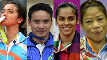Indian ace shuttler PV Sindhu is India's official flag-bearer at the opening ceremony