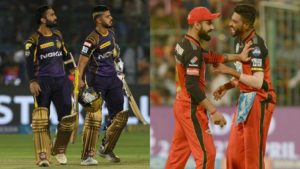 Royal Challengers Bangalore, Kolkata Knight Riders, Royal Challengers Bangalore vs Kolkata Knight Riders, RCB VS KKR LIVE, RCB VS KKR, Indian Premier League, IPL, IPL 2018, Cricket News, Cricket, Dinesh Karthik, Virat Kohli, AB de Villiers, Quinton de Kock,