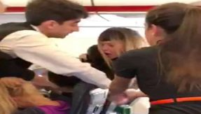 Vodka-fuelled fight! easyJet cabin crew pull apart 3 drunk women quarrelling on plane