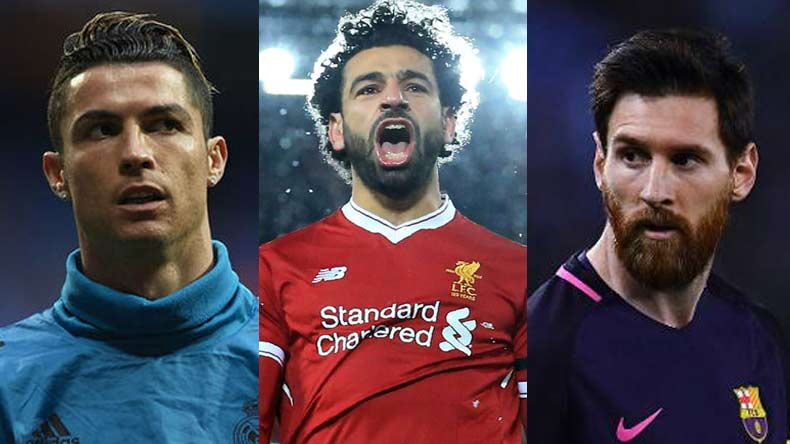 Top 10: Mohamed Salah leads Golden Shoe race, Cristiano Ronaldo sits at 9th spot