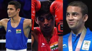 Commonwealth Games 2018, Amit Panghal, Gaurav Solanki, Manish Kaushik, CWG 2018, CWG LIVE, Indian Boxers, CWG News, Sports News, Latest News, India at CWG, Commonwealth Games, CWG LIVE, CWG Updates, CWG 2018