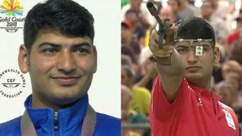 Om Prakash Mitharval, who recently finished on top of the podium with Jitu Rai in men's 10m air pistol, scuffed his last two shots which blocked him from top two finish