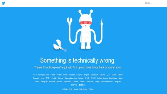 Twitterati go into a frenzy after Twitter goes down for 10 minutes
