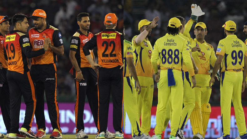 IPL 2018 Sunrisers Hyderabad vs Chennai Super Kings LIVE: Williamson's men aim to bounce back against Dhoni's CSK