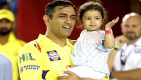 Awwww! Ziva wanted to hug pain-ridden Dhoni while he played one of his best innings!