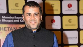 Chetan Bhagat aims a dig at Congress with April Fool's tweet