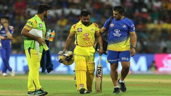 Kedar Jadhav went of the field in the 13th over of CSK's run-chase but came back in the last over to win them the match.