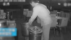 Jealous restaurant owner urinates in rival's soup, video goes viral