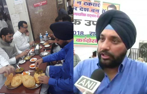 chole bhature feast, BJP guidelines, No eating, no selfies, Delhi BJP congress, comgress party, Rahul Gandhi, regional news, india news, national news