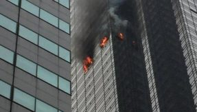 Trump Tower fire: Massive fire on 50th floor of New York's skyscraper leaves 1 dead, 4 injured