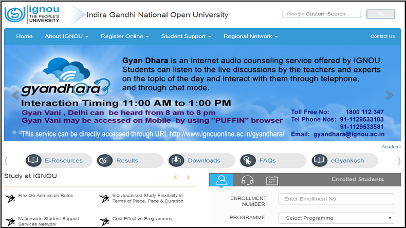IGNOU, IGNOU Re-exam admit cards, IGNOU hall tickets for Clash Course re-exam, ignou.ac.in, www.ignou.ac.in, education news, latest news
