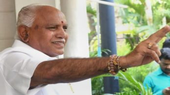 After the night-long courtroom battle, Yeddyurappa finally took oath as Karnataka's new Chief Minister.