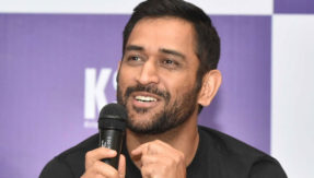 Watch video: MS Dhoni reveals the name of his first crush, asks public not to tell his wife