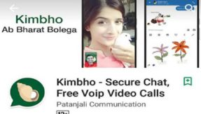 Patanjali's messaging app 'Kimbho' to rival WhatsApp