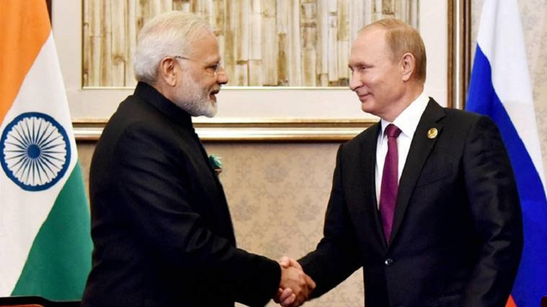 PM Russia visit: Modi leaves for Sochi for informal meet with Vladimir Putin