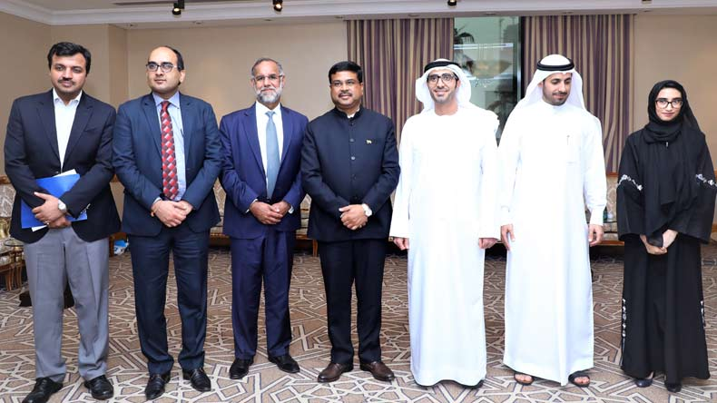 India,UAE,MoU,Narendra Modi, India,Dharmendra Pradhan,Petroleum & Natural Gas,Minister for Skill Development,Entrepreneurship, Nasser bin Thani Al Hamli, Minister of Human Resources and Emiratisation,national news,latest news