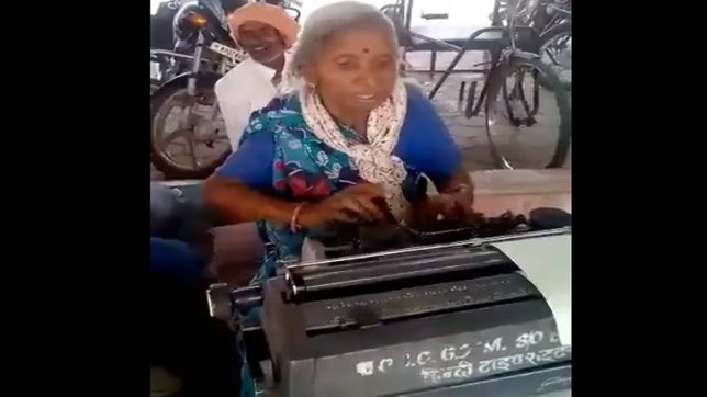 Typewriter's are dead and gone but this 72-year-old still teaches typing with enthusiasm!