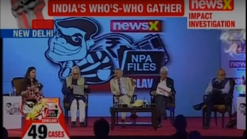 NewsX NPA Conclave: AK Bhattacharya says an unholy alignment between netas and crony capitalists