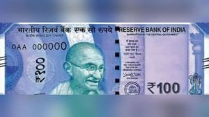 Rs 100 note, Rs 100 note violet-coloured, RBI to issue new Rs 100 note, Rs 100 new currency