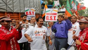 GST For New India, 1 year of GST, GST 1 year anniversary, Arun Jaitley, Grossly Scary Tax, Congress rebukes GST, Prime Minsiter Narendra Modi, Piyush Goyal, business news, national news