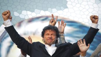 Though considered as Pakistani military's favourite son, Khan campaigned immensely against corruption and with a promise to reform systems within the government