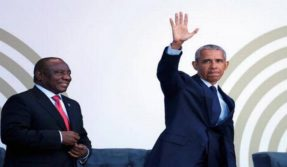 Obama rebukes Trump's policies, calls today's time stange and uncertain at Nelson Mandela birthday anniversary