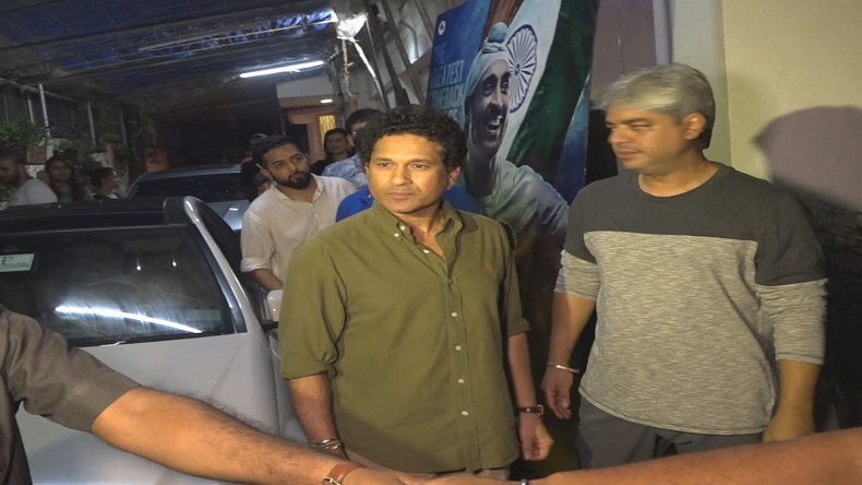 Sachin Tendulkar along with family attends the screening of Soorma, legend cricketer says enjoyed watching the film