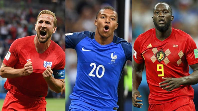 1f1f865d343d FIFA World Cup 2018: Here's how Golden Boot race fares after quarter-final  round