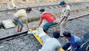 Watch: Man attempts suicide on railway track in Mumbai, co-passengers rescue him in the nick of time
