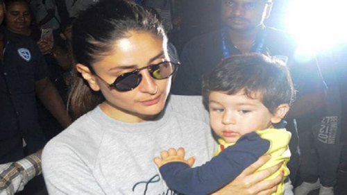 Taimur Ali Khan is back to Mumbai and we can't keep calm!