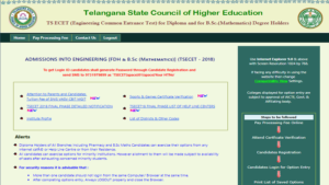 TS ECET 2018, TS ECET 2018 Final Phase Seat Allotment Result, TS ECET-2018, TS ECET Counselling 2018, TS ECET Final Phase result 2018
