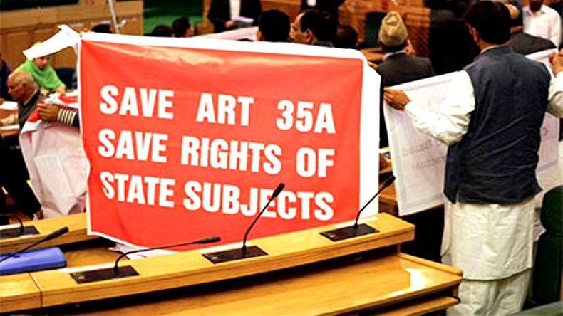 Supreme Court, Article 35A, Article 35 A hearing petitions adjourned, Supreme Court adjourns Article 35A hearing, Kashmir, Shutdown in Kahsmir, Article 35A hearing