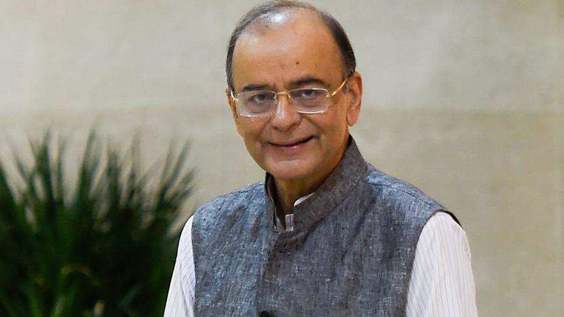 Arun Jaitley,GDP,Rahul Gandhi,8.2,Finance Minister,New India,Global Turmoil,GDP growth,Economic growth,Indian economy,Modi,BJP,Congress