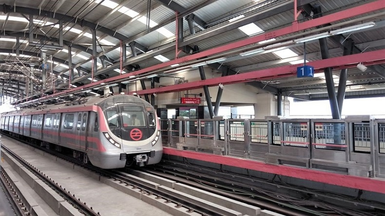 Delhi metro's new Pink Line South Campus-Lajpat Nagar flagged off by