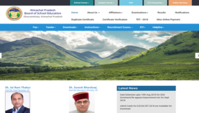 HPTET 2018: Himachal Pradesh Teacher's Eligibility Test admit card relaesed by HPBOSE, download @ hpbose.org