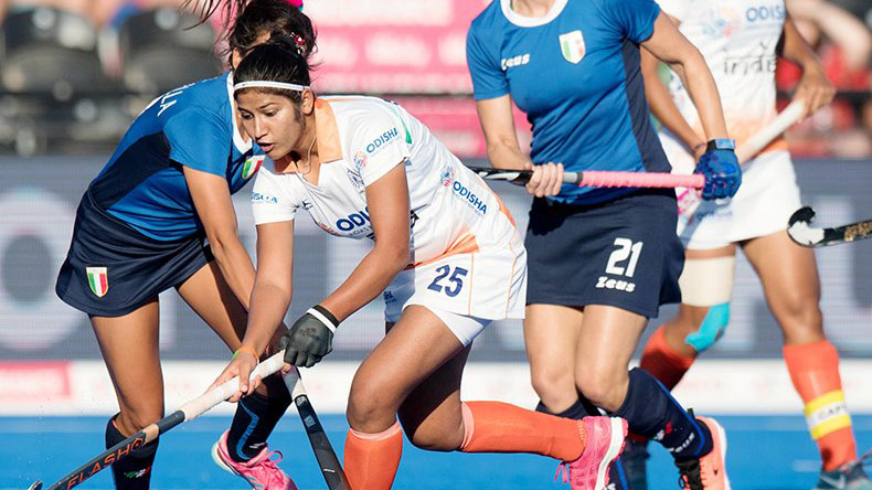 Women's Hockey World Cup 2018: India thrash Italy 3-0, to face Ireland in quarter-finals