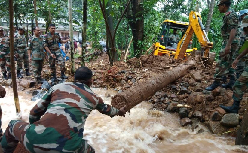 Kerala floods LIVE updates: Death toll reaches 73, Nirmala Sitharaman directs forces to expedite help