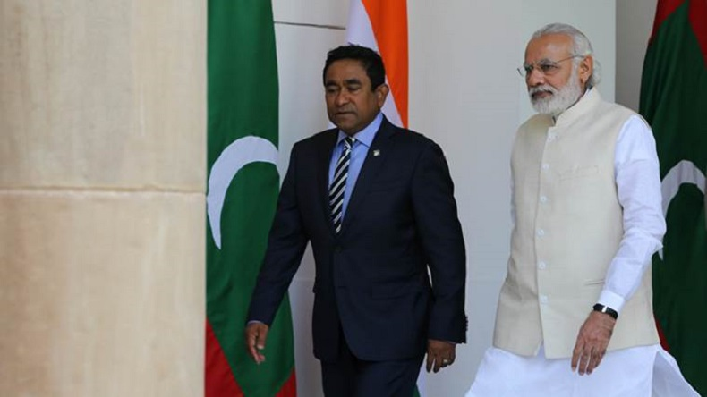 Maldives, India, China, Abdulla Yameen, Xi Jinping, India-Maldives ties, India-China, Indian Army, withdraw helicopters personnel Maldives asks India