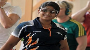 Rahi clinched gold in Women's 25m Pistol after 2 rounds of shoot-off at Jakarta.