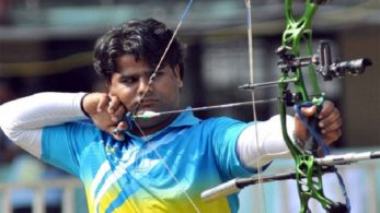 He also won the Gold Medal Asian Games in the year 2014 in Incheon, South Korea, in the men's compound archery team event, along with other winners including Sandeep Kumar and Abhishek Verma