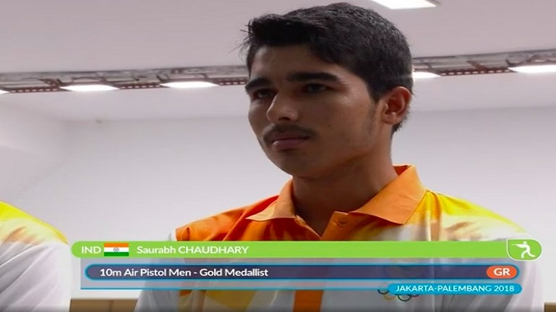 Asian Games 2018: Who is Saurabh Chaudhary?
