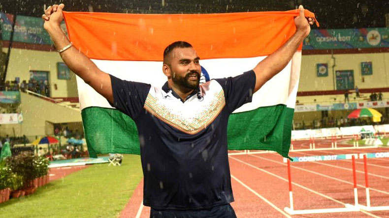 Asian Games 2018, 2018 asian games, asian games athletics, india at asian games, asian games steeplechase, Tajinder Pal Singh, Tejinder Pal Singh, Tajinder Pal Singh hot put, Tajinder Pal Singh shot putter. Tajinder Pal Singh Asian Games
