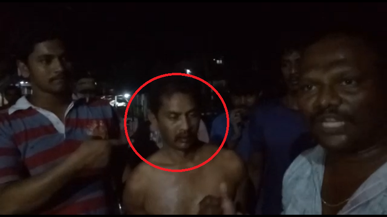 Andhra Teacher Paraded Naked,West Godavari,Andhra School Teacher, viral video
