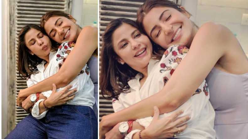 Anushka Sharma, Anushka Sharma Instagram, Anushka Sharma friends, Anushka Sharma Sui Dhaaga, Anushka Sharma upcoming movie, Ameira Punvani, Ameira Punvani Shiv pandit, Anushka Sharma wedding