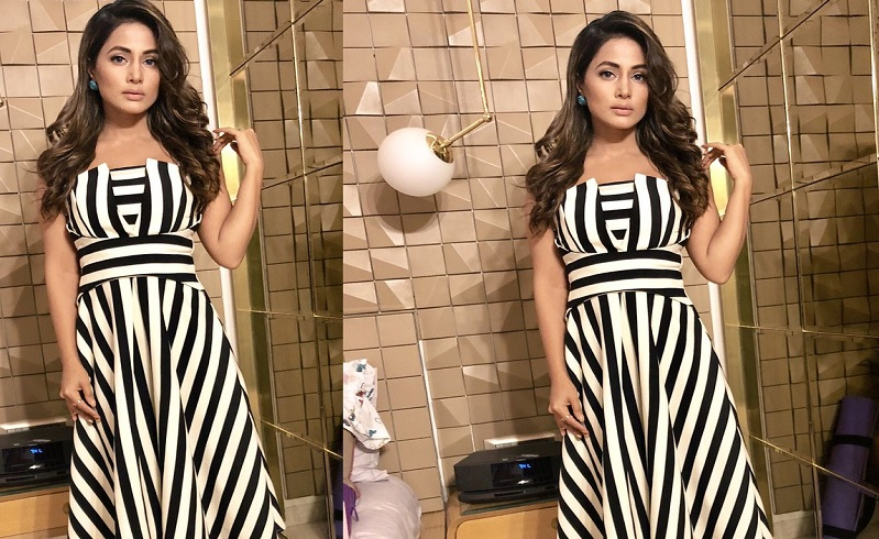 Hina Khan looks alluring in the latest pics