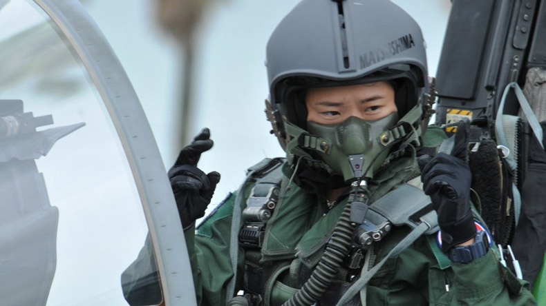 Top Gun-inspired woman to become the first female fighter pilot in Japan