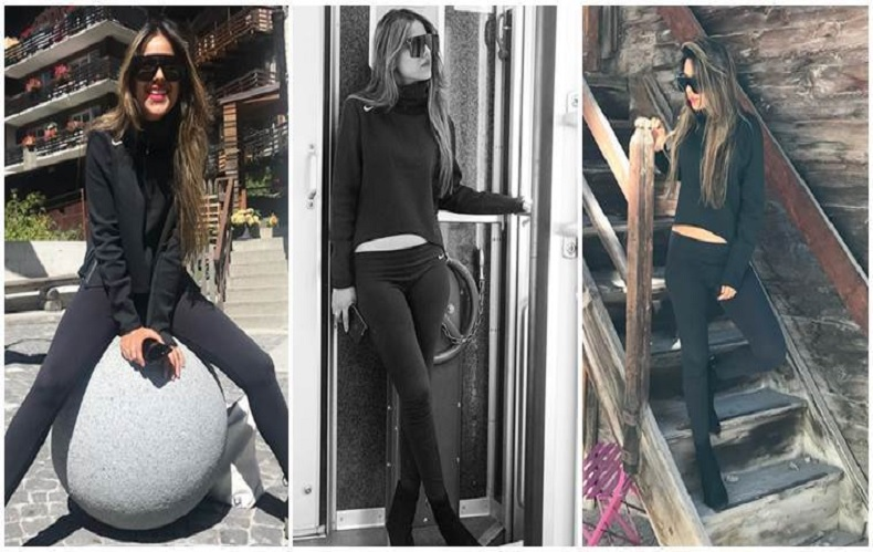 Nia Sharma is chilling like a boss in Switzerland