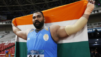 Tajinderpal Singh Toor clinches gold at Asian Games 2018 in men's shot put