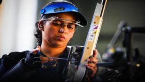 Tejaswini Sawant, Tesjaswini Yadav at Asian Games 2018, Asian Games 2018, Asian Games 2018 Indonesia, Asian Games 2018 Jakarta, Asian Games 2018 shooting, shooting Tejaswini Sawant, Tejaswini Sawant shooter player profile, Asian Games 2018 player profile
